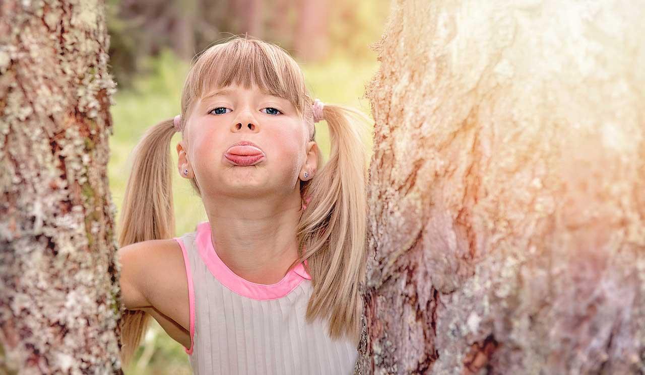 Pickel auf der Zunge bei Kindern