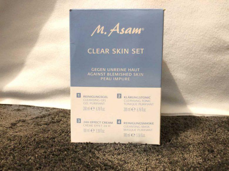 M Asam Clear Skin Set Test - endlich schöne Haut?