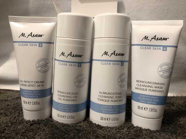 M Asam Clear Skin Set Test - Das Set für richtig schöne Haut