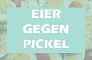 Eier gegen Pickel - Ei Maske aus Eiklar oder Eigelb