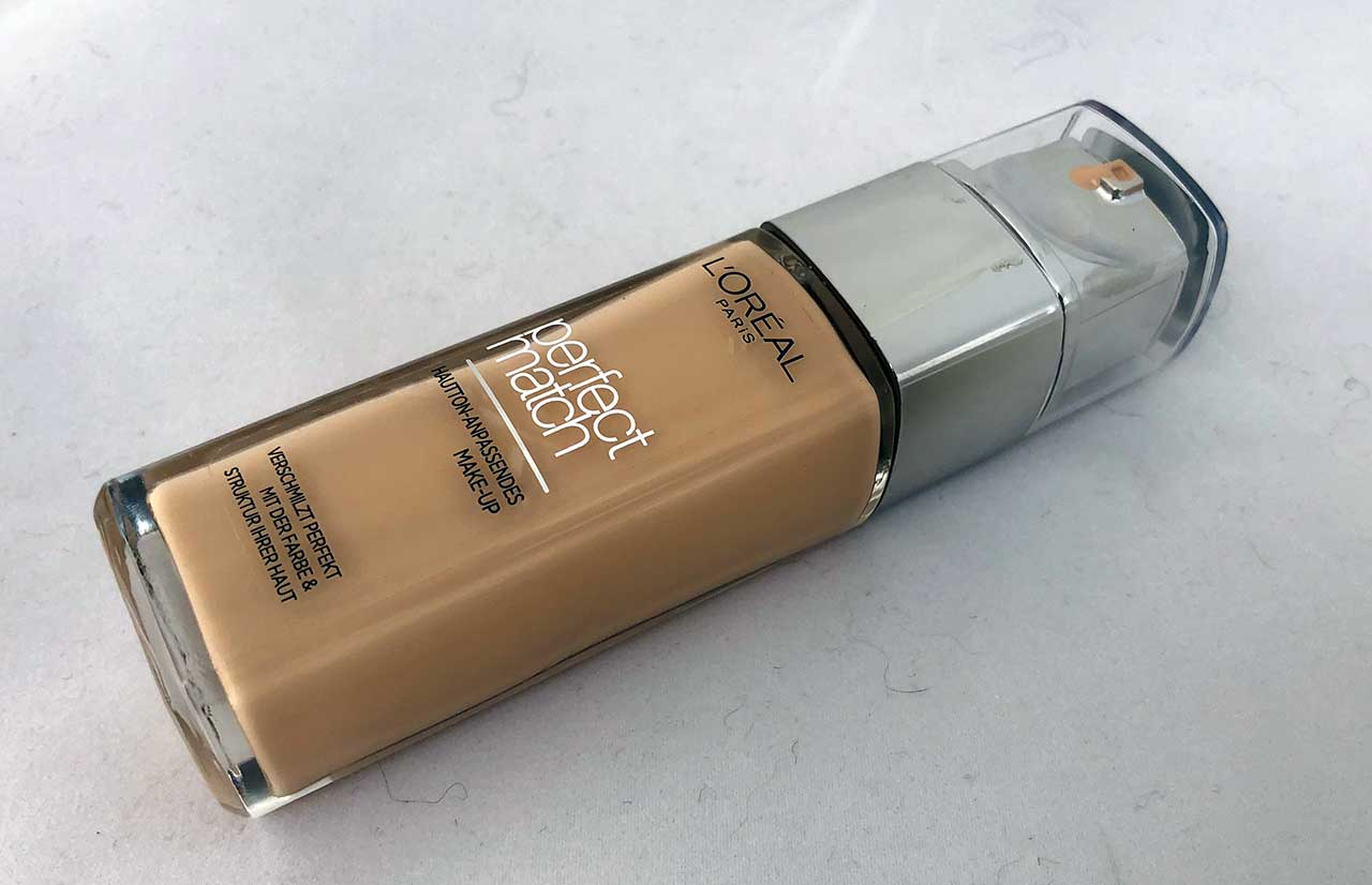 L'Oréal Perfect Match Foundation Test und Erfahrung - Nuance 1N