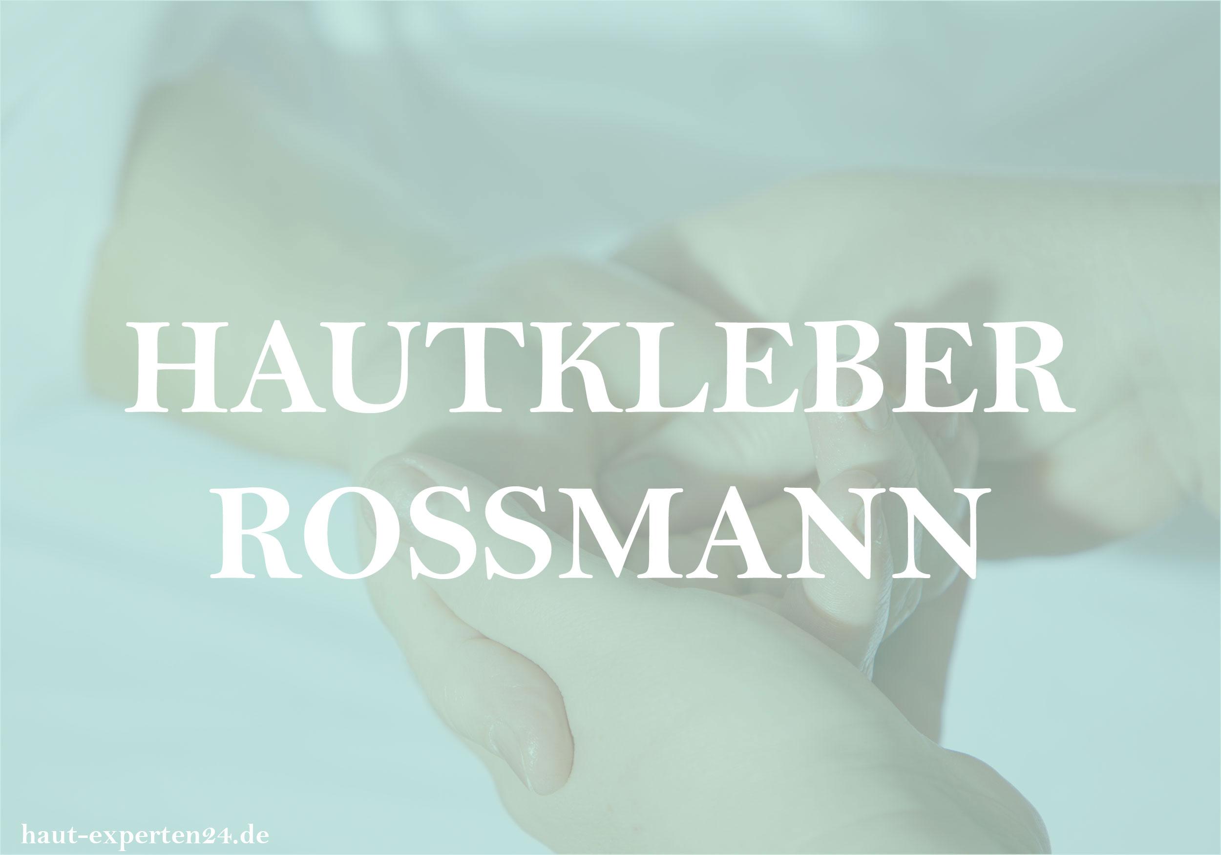 Hautkleber Rossmann - Kostümdesign nun auch aus der Drogerie?