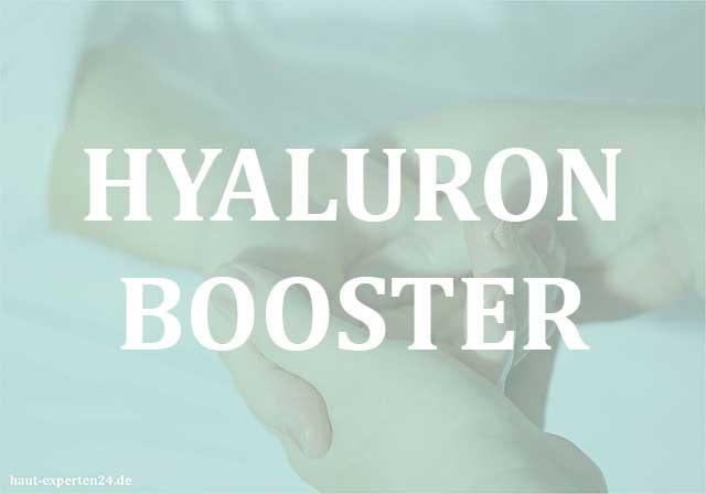 Hyaluron Booster für die Haut - Hyaluronsäure gegen die Hautalterung.