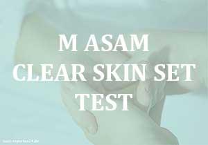 M Asam Clear Skin Set Test - Cream mit Traubenkernöl für die Haut.