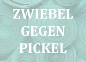 Zwiebel gegen Pickel und Entzündungen auf der Haut