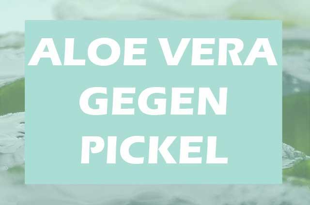 Aloe Vera gegen Pickel. Einfaches Hausmittel für Allergiker mit Hautproblemen.